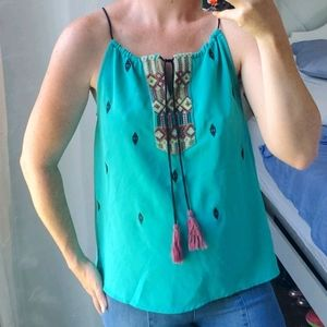 Esley Embroidered Tank
